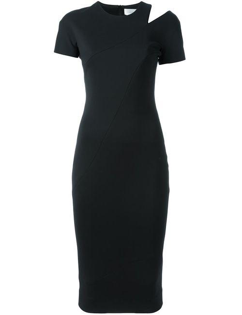Victoria Beckham | Женское Чёрное Облегающее Платье