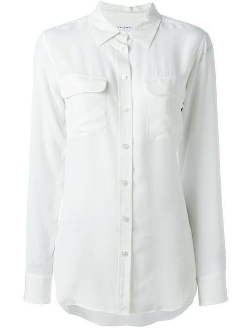 Equipment   Женская Белая Рубашка Panna