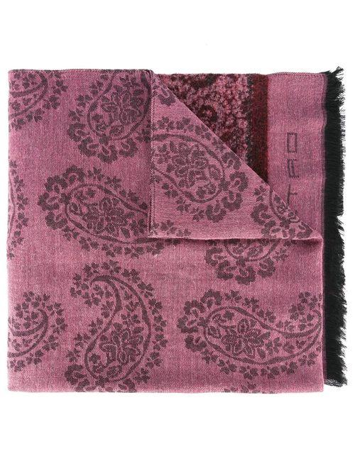 Etro   Женское Розовый Paisley Scarf