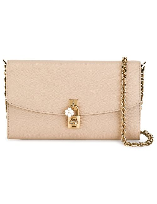 Dolce & Gabbana | Женское Nude & Neutrals Dolce Crossbody Bag