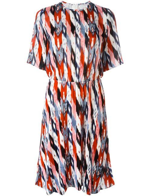 Isabel Marant Étoile   Женское Многоцветное Бархатное Платье Landen