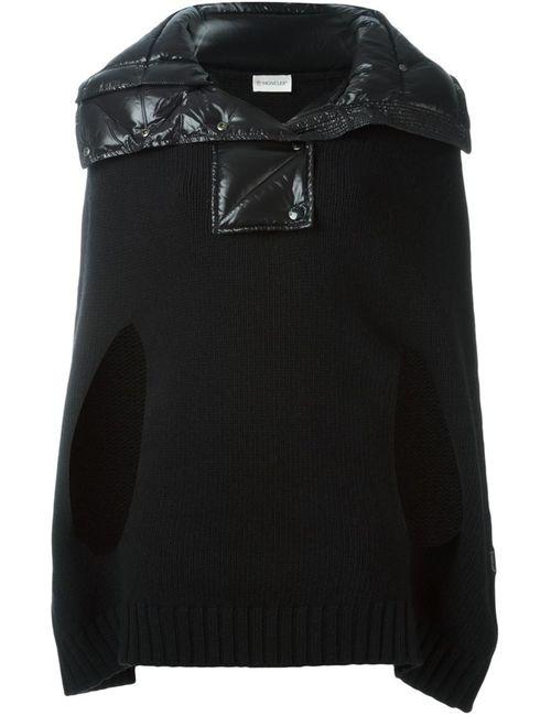 Moncler | Женское Черный Padded Collar Cape