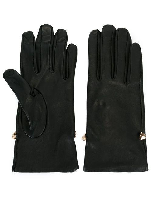 Twin-set | Женские Чёрные Длинные Перчатки