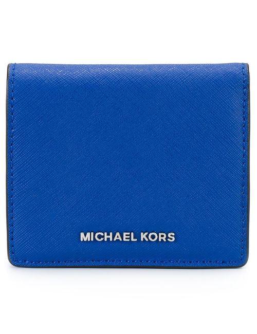 Michael Michael Kors | Женский Синий Складной Кошелек