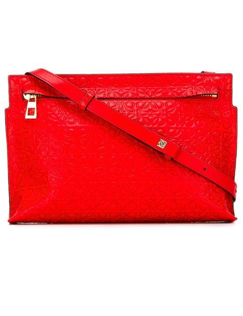 Loewe | Женская Красная Маленькая Сумка Через Плечо