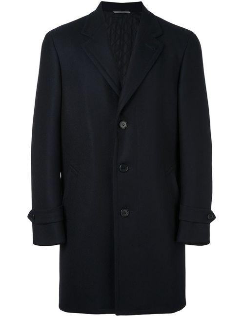Canali | Мужское Синий Classic Single Breasted Coat