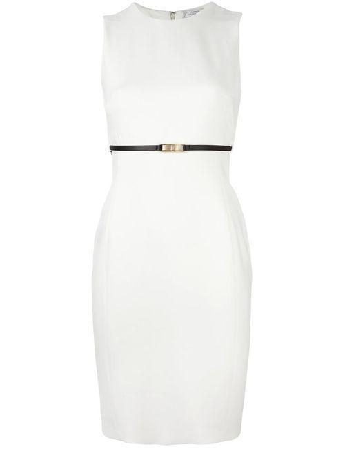 Versace Collection | Женское Белый Belt Detail Sleeveless Dress