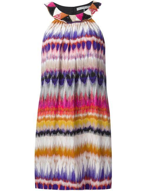 Trina Turk | Женское Многоцветное Платье С Узором