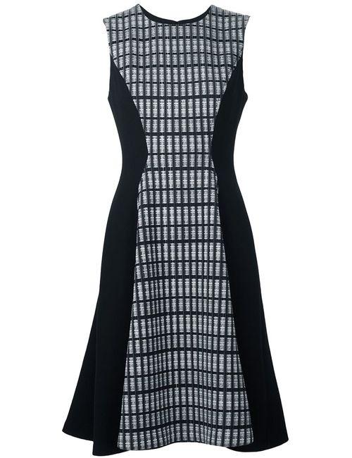 Lela Rose | Женское Чёрное Платье Без Рукавов
