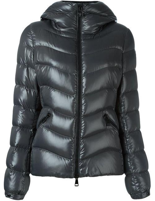 Moncler | Женская Серая Куртка-Пуховик Anthia