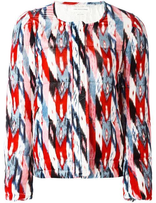 Isabel Marant Étoile | Женская Многоцветная Куртка С Узором