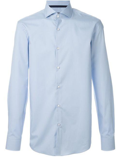 Hugo | Мужское Синий Cutaway Collar Shirt