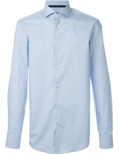 Boss Hugo Boss | Мужское Синий Cutaway Collar Shirt
