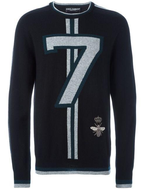 Dolce & Gabbana | Мужское Черный 7 Sweater