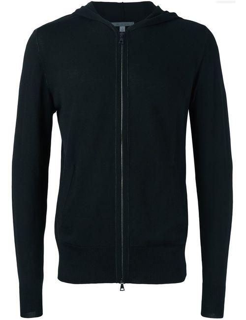 John Varvatos   Мужское Чёрный Hooded Sweater
