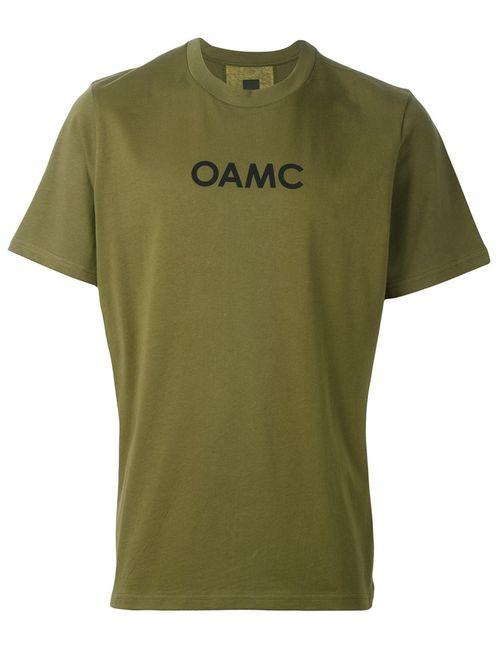 OAMC | Мужское Зелёный Rear Stripe T-Shirt