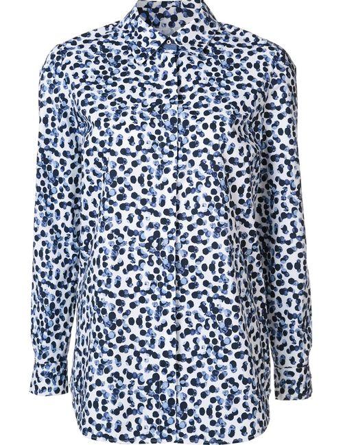 Lafayette 148 | Женское Белый Dot Print Shirt