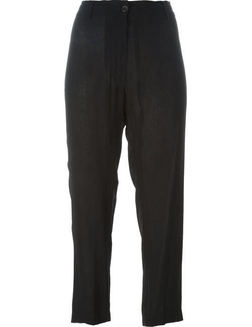 Ann Demeulemeester | Женское Чёрный Loose Fit Trousers