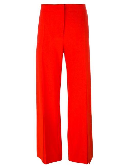 Cedric Charlier   Женское Красный Cédric Charlier Wide Leg Trousers