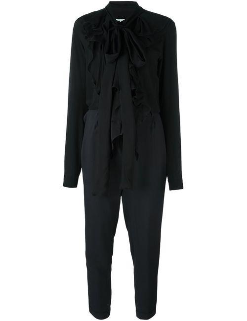 Faith Connexion | Черный Tie Neck Jumpsuit
