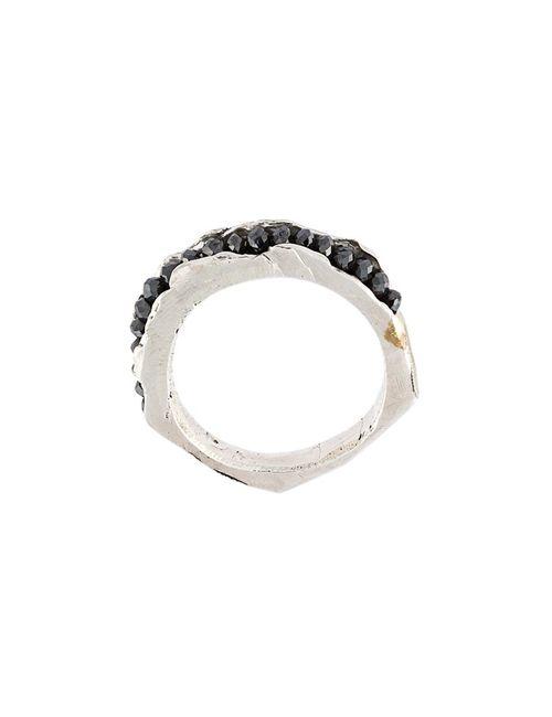 HENSON | Серебристый Diamond Channel Ring