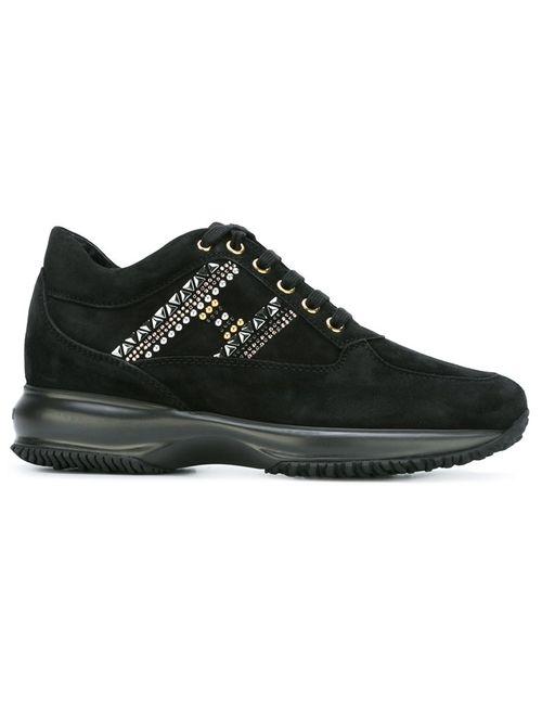Hogan | Женское Черный Panelled Sneakers