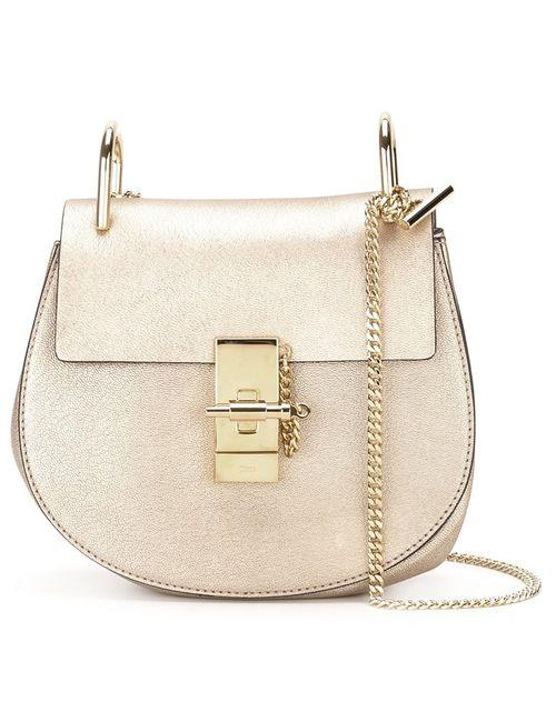 Chloe | Женское Серебристый Chloé Drew Shoulder Bag