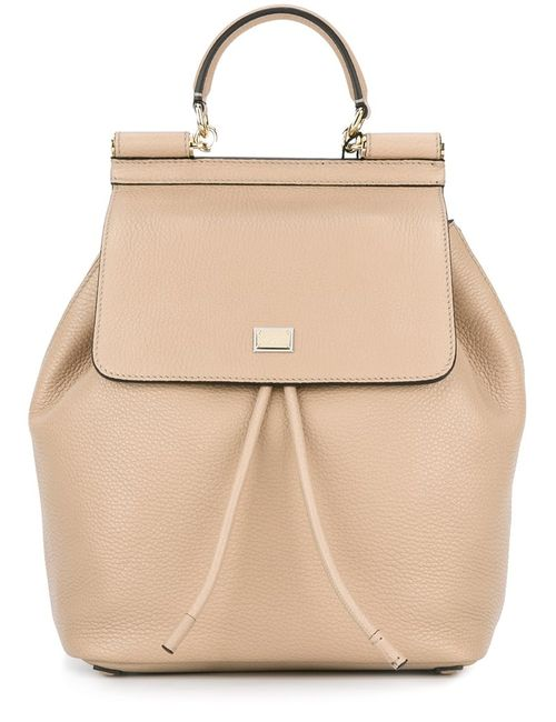 Dolce & Gabbana | Женское Nude & Neutrals Sicily Backpack
