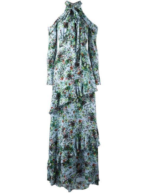 Erdem | Женское Синий Caliza Dress