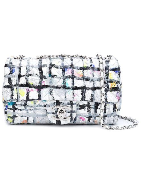 Chanel Vintage | Женская Многоцветная Сумка Через Плечо Flap