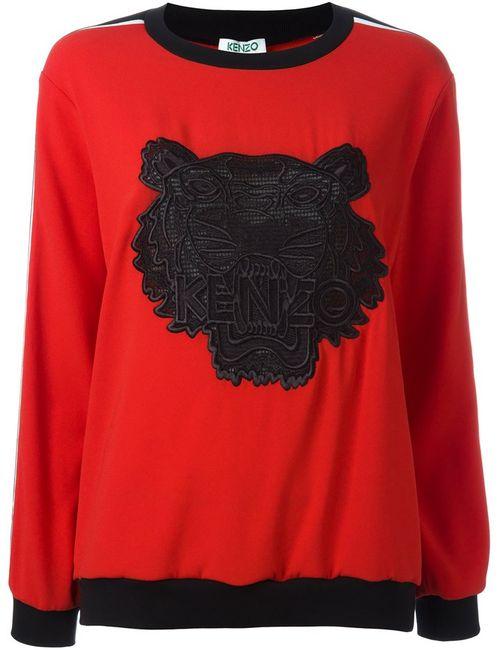 Kenzo | Женское Красный Tiger Sweatshirt