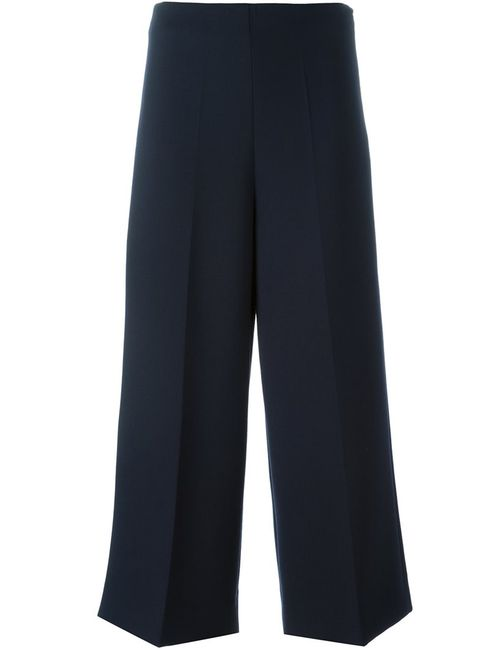 Erika Cavallini | Женское Синий Cropped Wide Leg Trousers