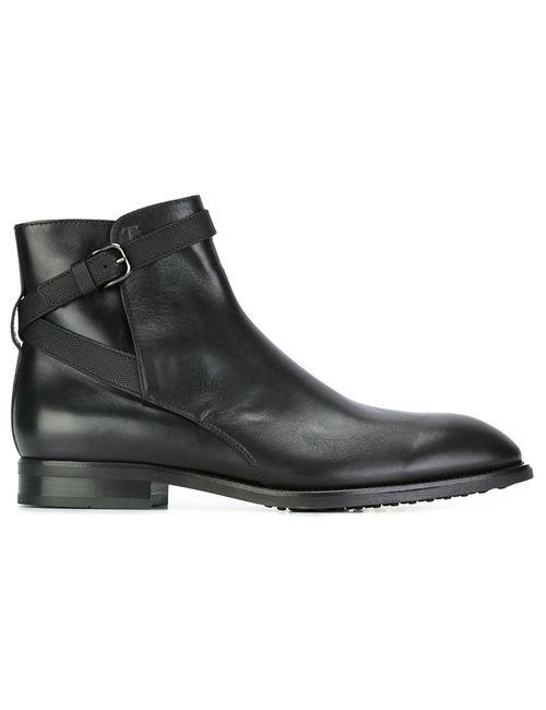 Tod'S | Мужские Чёрные Ботинки На Шнуровке