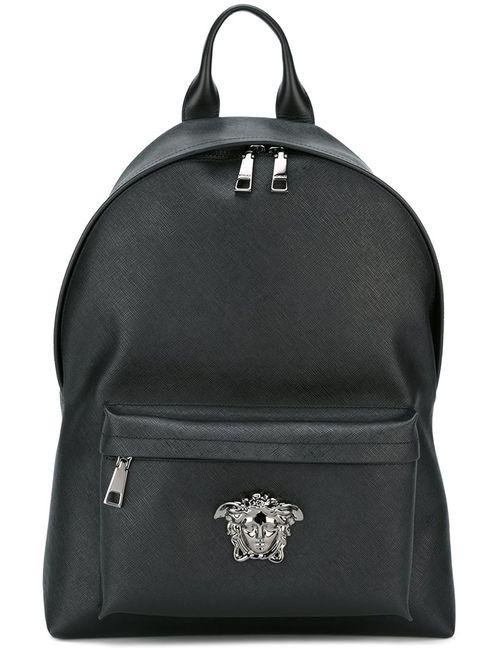 Versace | Мужской Чёрный Рюкзак Palazzo Medusa