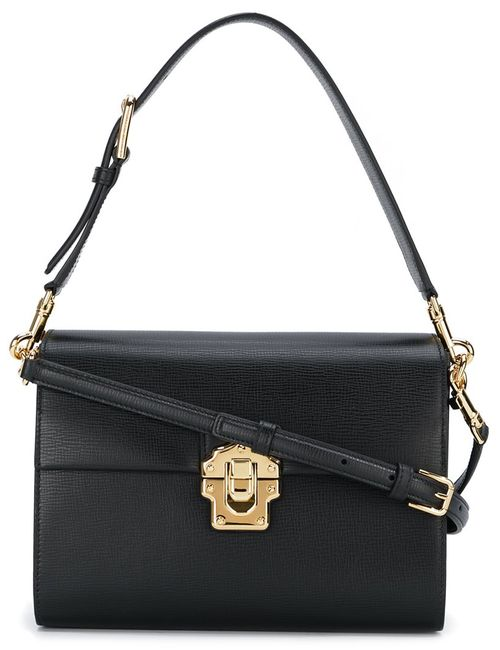 Dolce & Gabbana | Женская Чёрная Сумка Через Плечо Lucia
