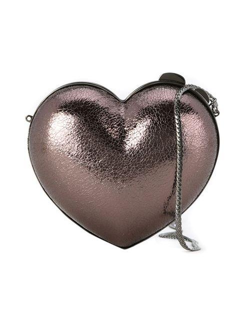 SERPUI | Женское Серебристый Heart Clutch