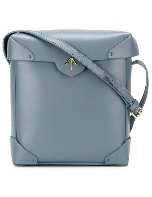Manu Atelier   Женское Синий Pristine Bag
