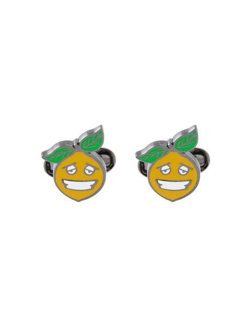 Paul Smith | Мужское Желтый Happy Lemon Cufflinks