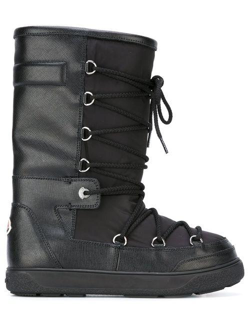 Moncler | Женские Чёрные Зимние Ботинки Laetitia Stivale