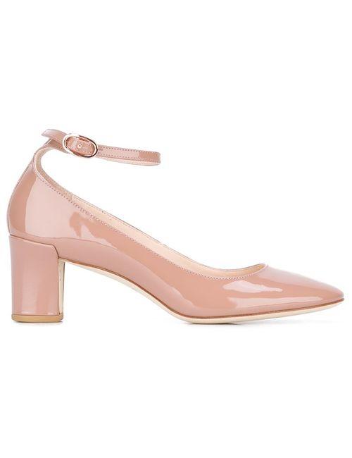 Repetto   Женское Розовый Ankle Strap Pumps