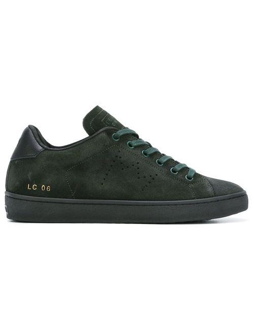 Leather Crown | Женские Зелёные Классические Кеды