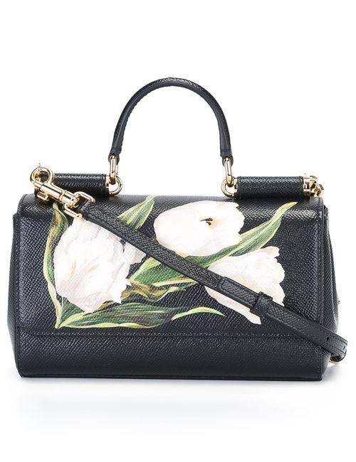 Dolce & Gabbana | Женское Чёрный Mini Sicily Crossbody Bag