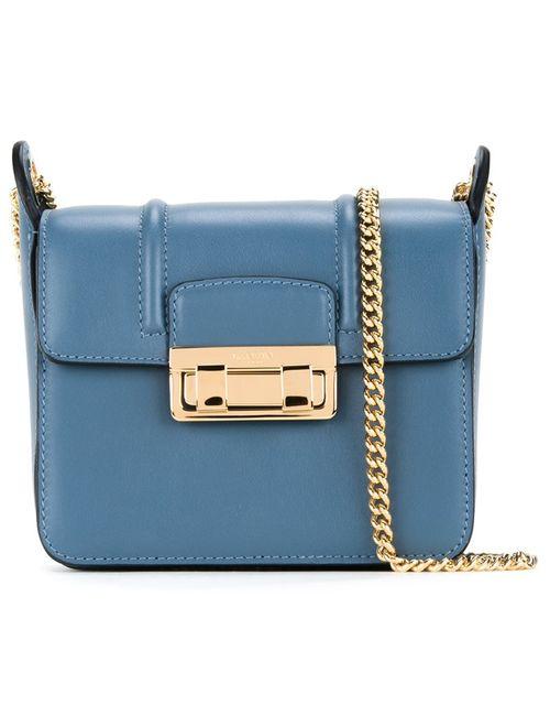 Lanvin   Женское Синий Mini Jiji Shoulder Bag