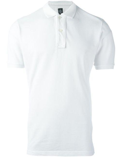 Eleventy | Мужское Белый Slim Fit Polo Shirt