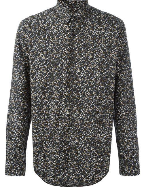 Fendi | Мужская Чёрная Рубашка С Узором