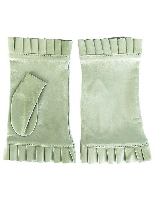 Gala   Женские Зелёные Перчатки Без Пальцев