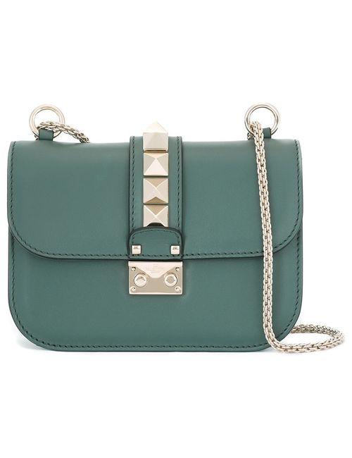 Valentino | Женская Зелёная Сумка На Плечо Glam Lock