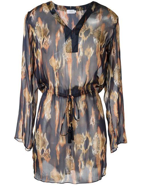 Brigitte | Женское Синий Printed Beach Dress