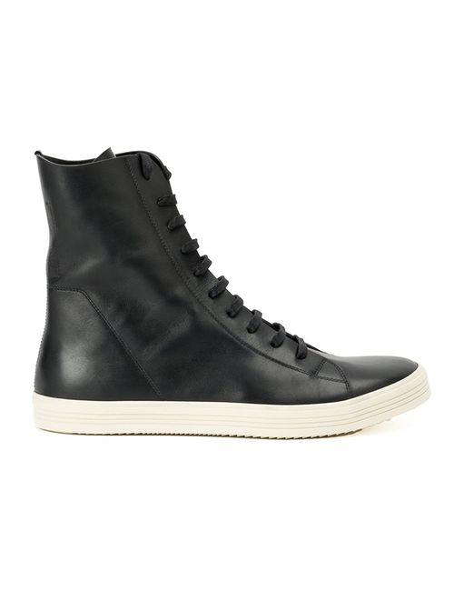 Rick Owens | Мужское Чёрный Mastosneaks Hi-Top Sneakers