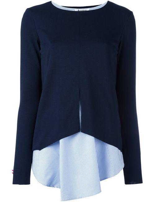 Dondup | Женская Синяя Блузка С Топом